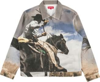 Supreme Cowboy Denim Work Jacket -