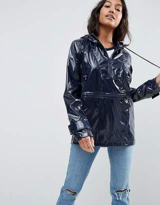 ASOS Over the Head Rain Trench in Vinyl $72 thestylecure.com