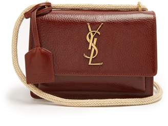 Saint Laurent Sunset small leather cross-body bag