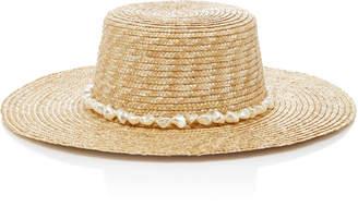 Avenue Bazaar Embellished Staw Hat