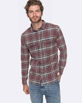 Quiksilver Mens Swell Long Sleeve Shirt