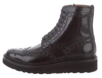 Grenson Fred Wingtip Ankle Boots