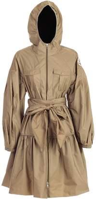 Moncler Genius Coat W/belt And Pockets