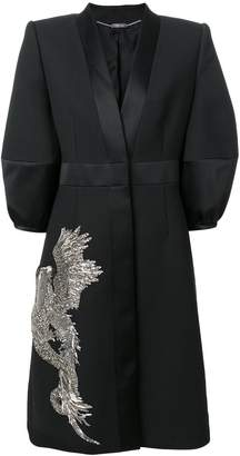 Alexander McQueen phoenix and dragon embellished dress