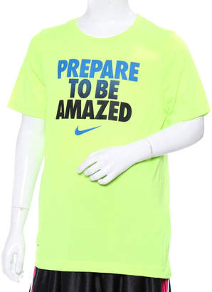 Nike (ナイキ) - ナイキ NIKE ジュニア バスケットボール 半袖Tシャツ YTH ドライ レジェンド TO BE AMAZED Tシャツ 913172702