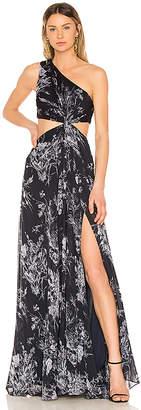 Cinq à Sept Inky Floral Goldie Dress