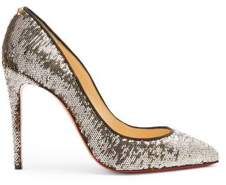 Christian Louboutin - Pigalle Follies 100 Sequin Embellished Pumps - Womens - Multi