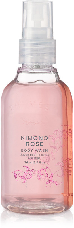 Thymes Online Only Travel Size Kimono Rose Body Wash