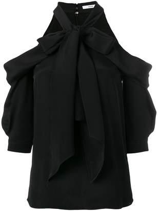 Erdem ruffle cold shoulder blouse