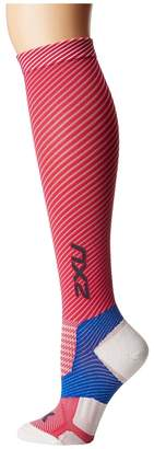 2XU Elite Lite X-Lock Compression Socks Women's Knee High Socks Shoes