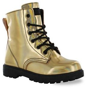 Gotta Flurt Luna Girls' Combat Boots $39.99 thestylecure.com