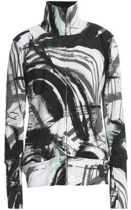 Norma Kamali Printed Neoprene Jacket