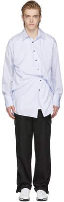 Wooyoungmi Blue Crushed Shirt