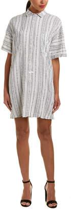 Derek Lam 10 Crosby Linen-Blend Shirtdress