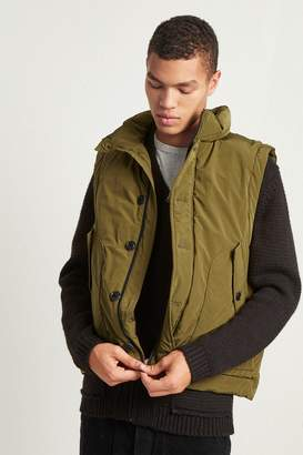 French Connenction Soft Nylon Quilted Gilet