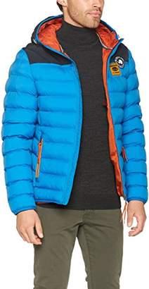 Napapijri Men's Articage Jacket, (Mountain Blue Ba1)