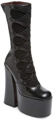 Marc Jacobs Dede Platform High Heel Boot