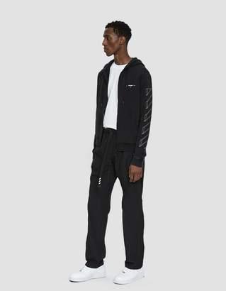 Off-White Off White Straight Leg Parachute Pant