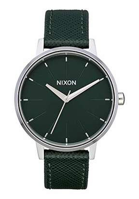 Nixon Unisex Adult Analogue Quartz Watch with Leather Strap A108-3075-00