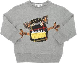 Burberry Monster Patch Cotton Sweatshirt