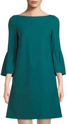 Lafayette 148 New York Marisa Bell-Sleeve A-line Dress