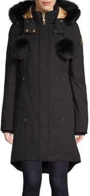 Moose Knuckles Governor Lake Fur Trim Parka
