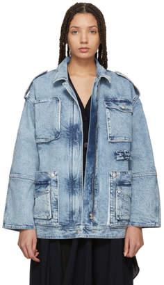 Stella McCartney Blue Military Denim Jacket