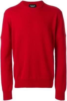 Calvin Klein printed jumper