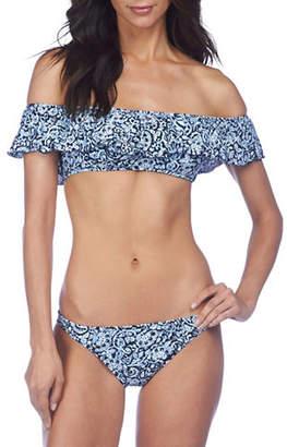 Polo Ralph Lauren Off-The-Shoulder Ruffle Bikini Top