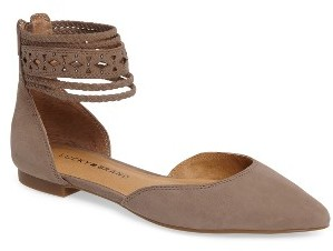 Women's Lucky Brand Madoz Ankle Strap Flat $78.95 thestylecure.com