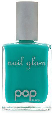 POP Beauty Nail Glam Nail Polish, Turquoise 0.5 oz (15 ml)