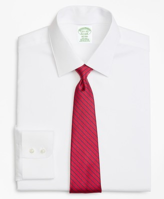 Brooks Brothers Milano Fit Limited-Edition Non-Iron Interchangeable-Collar Shirt
