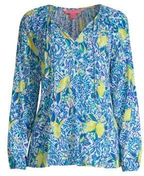 Lilly Pulitzer Willa Printed Top