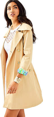 Lilly Pulitzer Qynn Trench Coat