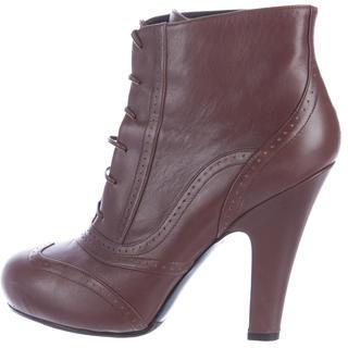 Bottega VenetaBottega Veneta Perforated Ankle Boots