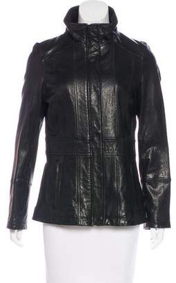 Andrew Marc Casual Leather Jacket