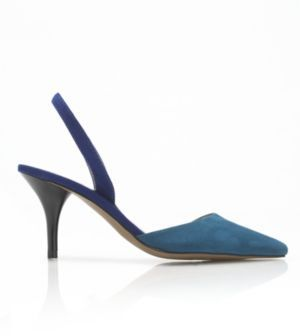 New York & Co. 58andLEX Olivia Faux Suede Slingback