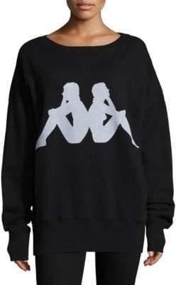 Faith Connexion Kappa Graphic Cotton Sweatshirt