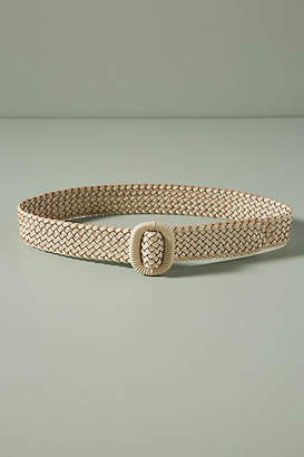 Anthropologie Cara Woven Belt
