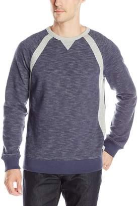 Nautica Men's Pieced Crew Sweatshirt