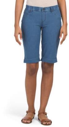 Essential Denim Boyfriend Shorts