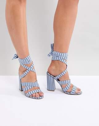 Asos DESIGN Halliwell Block Heeled Sandals