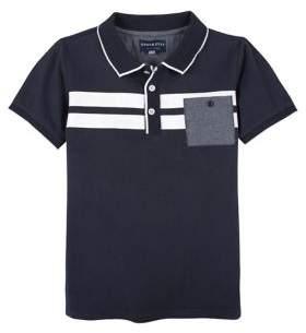 Andy & Evan Little Boy's Contrast Stripe Polo