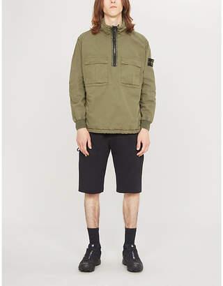 Stone Island Cargo-pocket cotton jacket