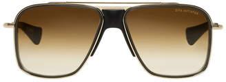 Dita Gold and Black Initiator Sunglasses