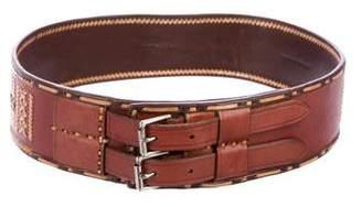 Ralph Lauren Embroidered Waist Belt