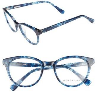 Women's Derek Lam 50Mm Optical Glasses - Blue Cloud $330 thestylecure.com