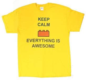 Gildan Lego Inspired Keep Calm Everything Is Awesome Boy's T-Shirt
