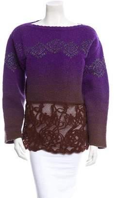 Christian Lacroix Bazar de Embellished Sweater