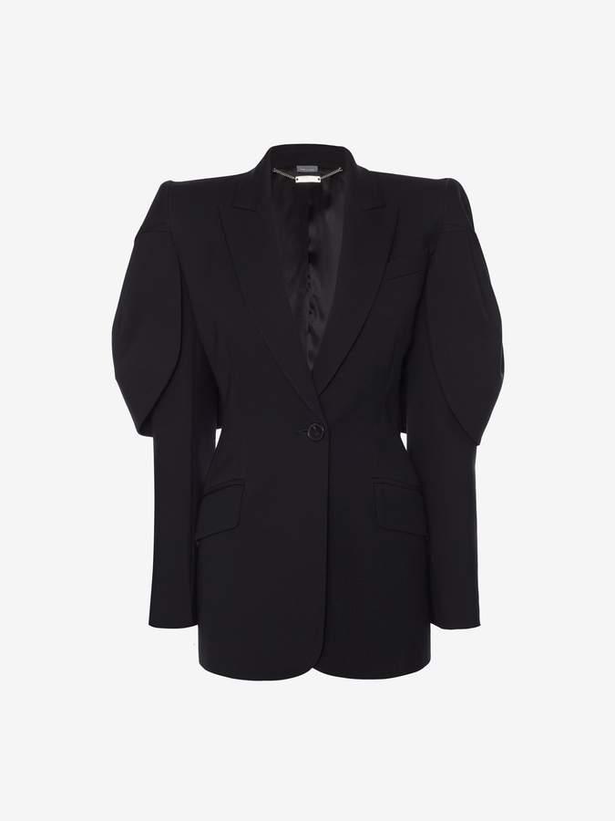 Shell Sleeve Jacket